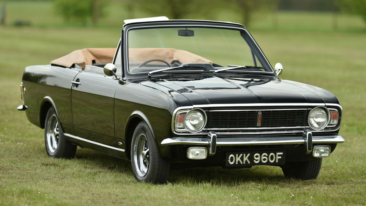 Powerspark 1968 Ford Cortina Crayford Convertible