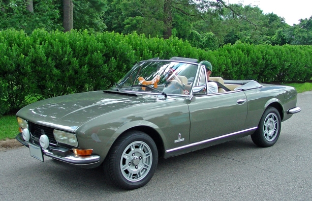 Powerspark Ignition And A Peugeot 504 Cabriolet