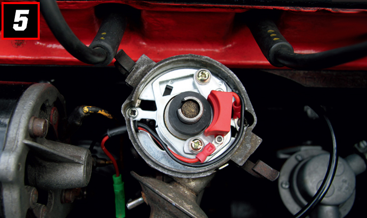 Fitting a Powerspark Electronic Ignition Kit – Picture Guide