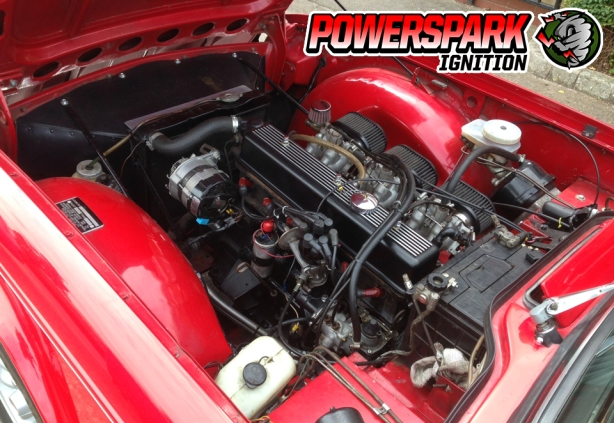 Triumph TR6 Engine 2