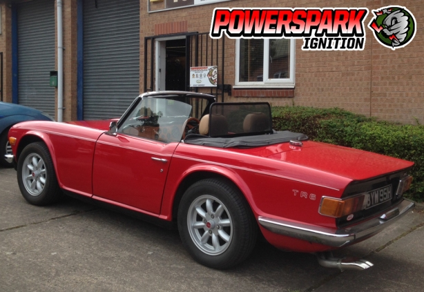 Visitors - Triumph TR6